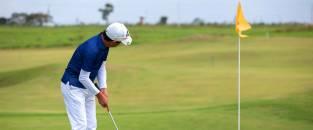 Malai Manso sedia os dois primeiros campeonatos em seu campo de golfe