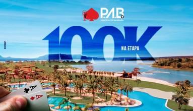 Torneio de Poker  PAB 100k Malai