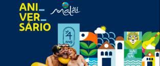 Malai Manso completa 4 anos de história