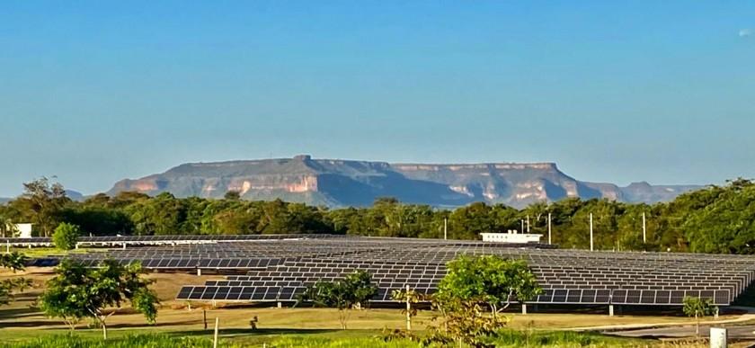 Placas Solares Malai Manso Resort UFV - Morro do Navio
