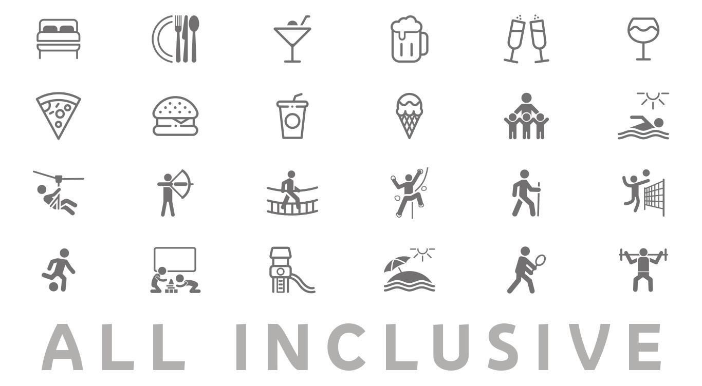 Icones All Inclusive